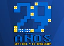Celebrando el 29 aniversario de los Joven Club de Computación