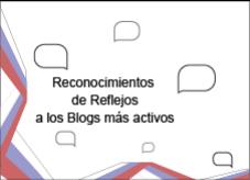 Reconocimiento a los blogs más activos